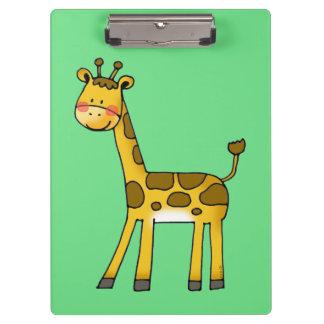 cute giraffe clipboards