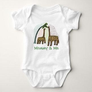 Cute Giraffe Mommy & Me Infant T T Shirts