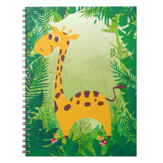 Cute Giraffe Notebooks