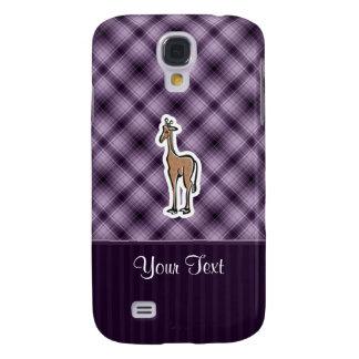 Cute Giraffe; Purple