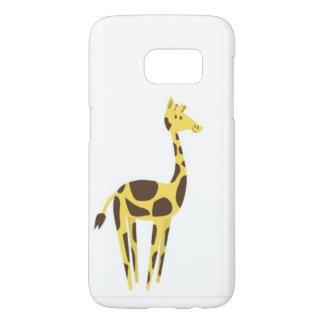cute giraffe Samsung Galaxy S7, Barely There Phone Samsung Galaxy S7 Case
