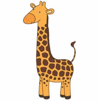 Cute Giraffe Sculpture Photo Cut Out