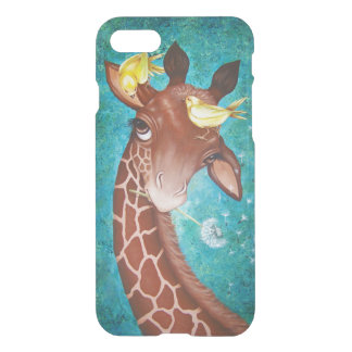 Cute Giraffe with Birds iPhone 8/7 Case