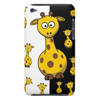 Cute Giraffes Barely There iPod Cover