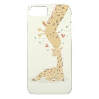 Cute Giraffes Love iPhone 7 Case