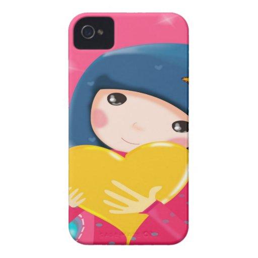 Cute Girl Blackberry Case