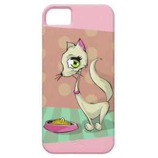 Cute Girl Cat Cartoon Mobile Phone Case