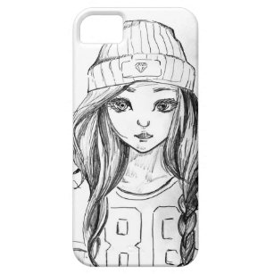 Cute Girl Drawing Electronics Tech Accessories Zazzle Ca