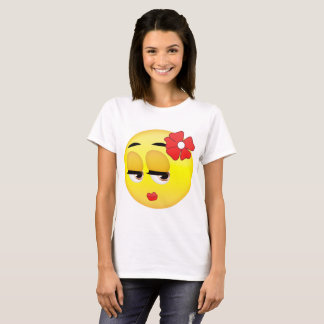 Cute Girl Emoji T Shirt