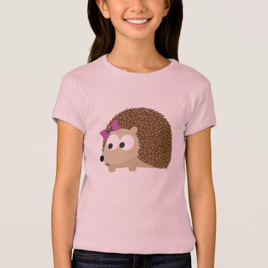 cute Girl hedgehog T-Shirt