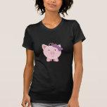 Cute Girl Pig Tshirt