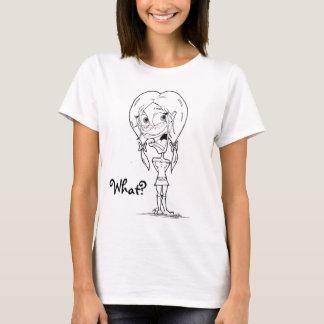 Cute Girl Spaghetti Strap T-Shirt