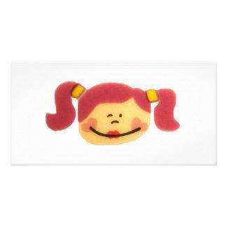 Cute Girlie design! Photo Cards
