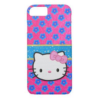 Cute Girls Pink Sparkles Design iPhone Case