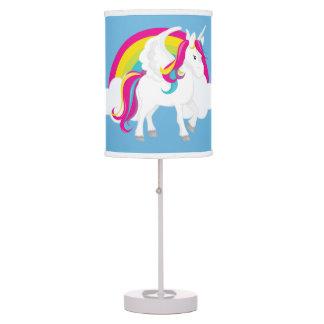 Cute girls Unicorn room table lamp