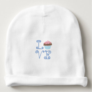 Cute Girly Colorful Kawaii Sweet Love Cupcake Baby Beanie