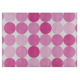 Cute Girly Elegant Pink Polka Dots Boards