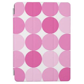Cute Girly Elegant Pink Polka Dots iPad Air Cover