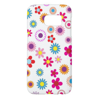 Cute girly Flower Design Samsung Galaxy S7 Case