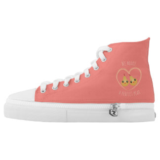 Cute Girly Kawaii We Make A Perfect Pear Pun Humor High Tops