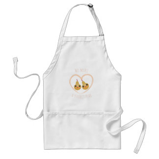 Cute Girly Kawaii We Make A Perfect Pear Pun Humor Standard Apron