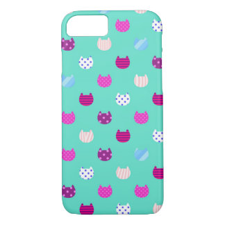 Cute Girly Kitty Cat Barely There iPhone 7 Case