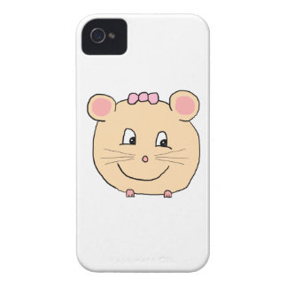 Cute Girly Mouse. iPhone 4 Cover