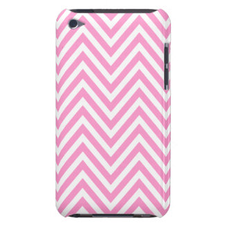CUTE GIRLY PINK CHEVRON PATTERN iPod TOUCH COVERS