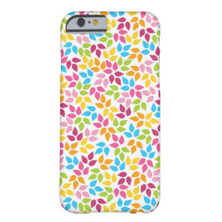 Cute girly spring floral pattern barely there iPhone 6 case