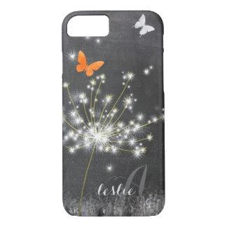 Cute Glittery Dandelion iPhone 8/7 Case