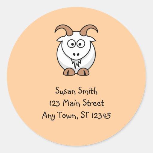 Cute Goat Sticker