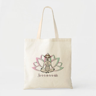 CUTE GOAT YOGA | Namaste GetYerGoat™ Tote Bag