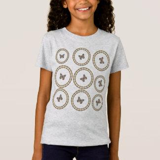 Cute Gold Butterfly  T-shirt
