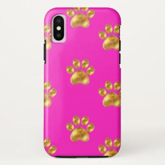 Cute gold paws Case-Mate iPhone case