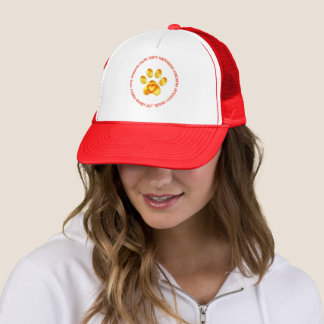 Cute Golden Paw Trucker Hat