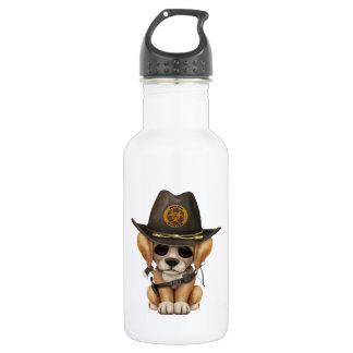 Cute Golden Retriever Puppy Zombie Hunter 532 Ml Water Bottle