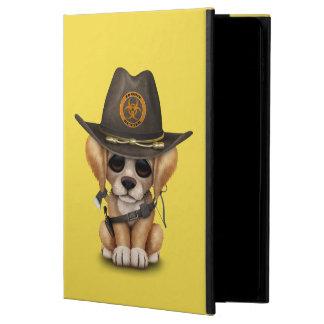 Cute Golden Retriever Puppy Zombie Hunter Powis iPad Air 2 Case