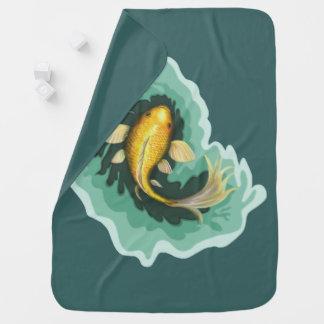 Cute Goldfish Baby Blanket