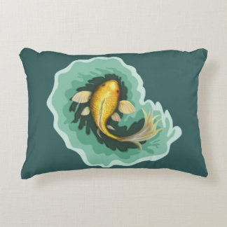 Cute Goldfish Koi Decorative Pillow