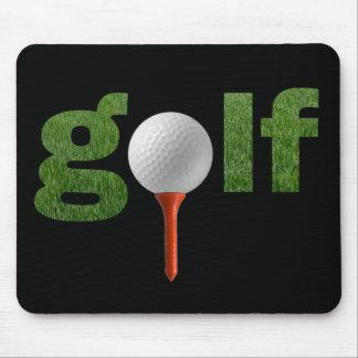 Cute Golf Sports Design Mouse Pad