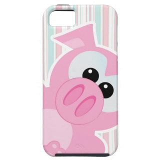 cute goofkins piggy pig peeking iPhone 5 covers