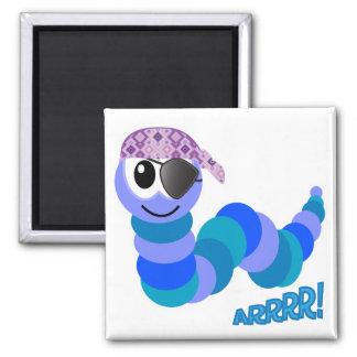 Cute Goofkins pirate caterpillar Magnet