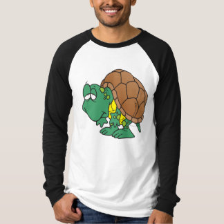 cute goofy cartoon turtle character T-Shirt