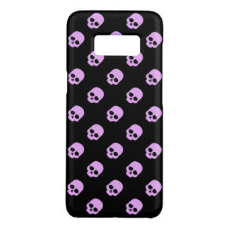 Cute Goth Pink Skulls Case-Mate Samsung Galaxy S8 Case
