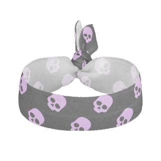 Cute Goth Pink Skulls Hair Tie