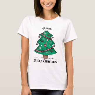 Cute gothic Christmas tree T-Shirt