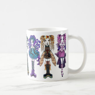 Cute Gothic Fairy Art Mug