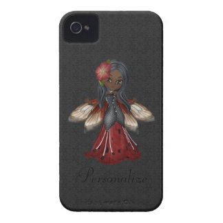 Cute Gothic Flower Fairy BlackBerry Bold iPhone 4 Cases