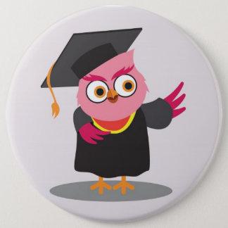 cute graduate Colossal Button
