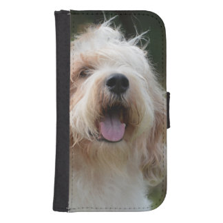 Cute Grand Basset Samsung S4 Wallet Case